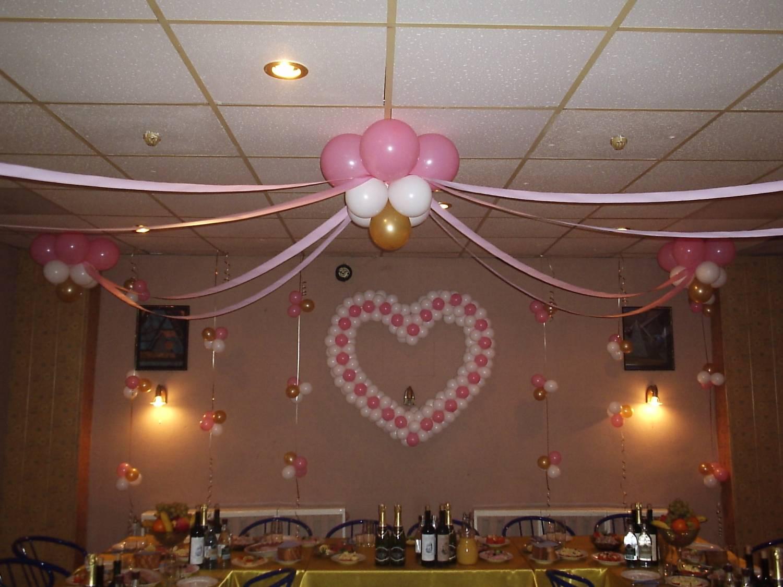 Как украсить зал на свадьбу своими руками лентами и шарами 91